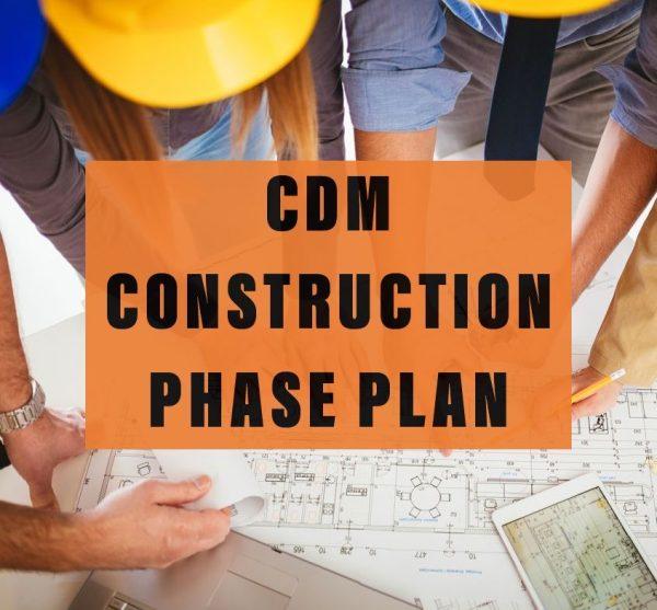 CDM Construction phase plan CPP
