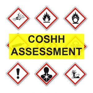 Hazardous substances COSHH Risk Assessments