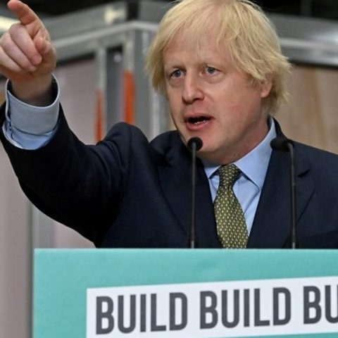Borris Tells the Construction Industry to Build, Build, Build